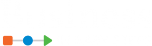 Business in Baby Steps Reverse Logo