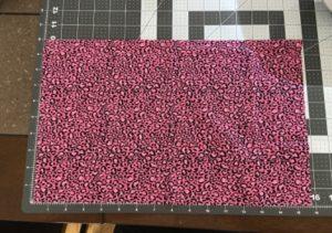 """10"""" x 16"""" fabric square"""